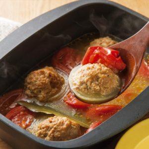 ココットダッチオーブン 玉ねぎのファルシ